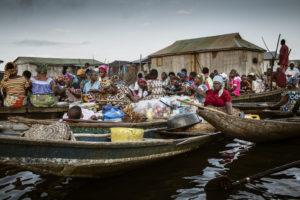 Benin landsby