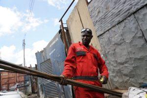 Metalarbejder i Kenya