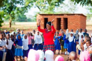 børnehaveklasse i Tanzania