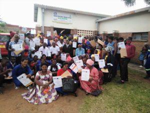 Kursusdeltager med certificerede kursusbeviser